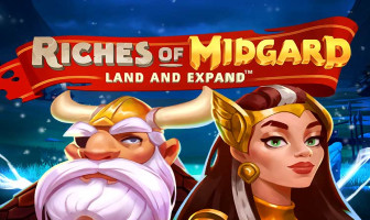 NetEnt - Riches of Midgard: Land and Expand